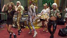 2 Bears' dance troupe