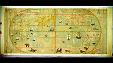 Map of the Myriad Countries of the World, by Matteo Ricci (1552-1610) and Li Zhizao (1565-1630)