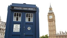 The TARDIS, dinosaur bones and the return of the Doctor and Clara!