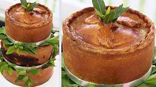 Kate's Rhubarb, Prune & Apple Pork Pies