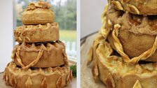 Chetna's Fusion Tiered Pies