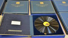 A selection of EMI presentation boxes from Royal speeches