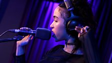 FKA twigs in the Live Lounge