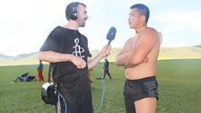 Peter Geoghegan interviewing
