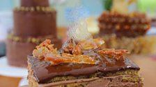 Nancy's Chocolate & Caramel Dobos Torte
