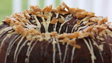 Martha's Dark Chocolate & Almond Liqueur Savarin