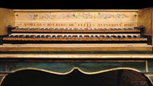 Harpsichord at the Cobbe Collection