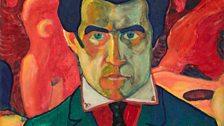 Malevich (1878 - 1935) Self Portrait 1908-1910