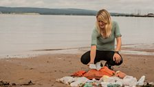 Dr Lucy Quinn carried out research on behalf of the University of Aberdeen into the levels of plastic found in fulmars