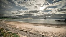 Cromarty Beach is the home of the Lighthouse Field Station research centre