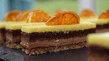 Chetna's Chocolate Orange Entremets