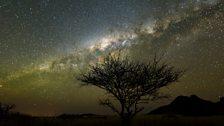 Milky Way over Namib Desert