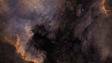 Pelican Nebula and Cygnus Wall