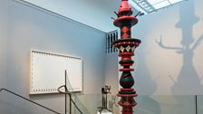 Installation image featuring Keith Tyson - Stochastic Axle For the Great Celestial Dynamo, 2014