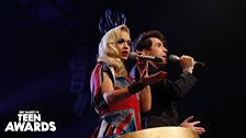 Rita and Grimmy enter the arena