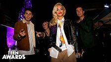 Rita, Grimmy and Alfie backstage