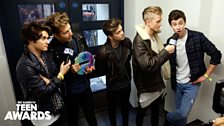 The Vamps with Shawn Mendes