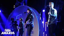 Rixton at at BBC Radio 1's Teen Awards 2014