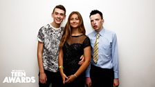 Teen Heroes Jack G, Caitlin and Jack M