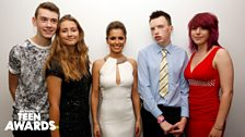 Cheryl meets the Teen Heroes