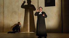 Johnny Herford (Josef K),  Nicholas Folwell (Priest)