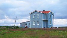 The farmhouse where the Kvoldvaka takes place