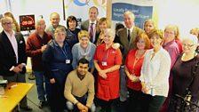 Arrowe Park Hospital Staff with Clare