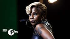 Mary J Blige performs at 1Xtra Live in Birmingham