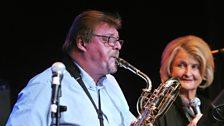 John Surman and Karin Krog