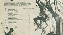 Spring 1972 Teachers' Edition