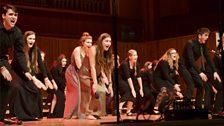 Ysgol Glanaethwy Senior Choir (photo credit Tas Kyprianou)