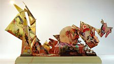 Resurrection (side view);  1966-99;  mixed media;  236 ins long x 102 ins wide x 120 ins high