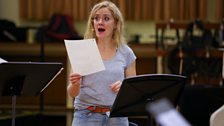 Sophie Thompson plays the Ghost of Christmas Past