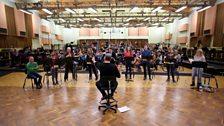 Recording in Maida Vale Studios