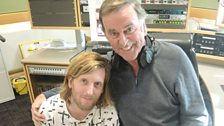 Andy Burrows after his brilliant live session