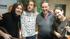 Andy Burrows and the band