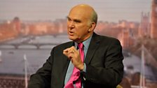 Business Secretary Vince Cable MP