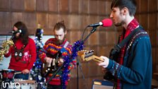 Island Cassettes at BBC Introducing in Kent's Christmas Party