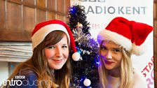 Abbie McCarthy and Florrie at BBC Introducing in Kent's Christmas Party