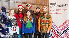 Abbie McCarthy and Island Cassettes at BBC Introducing in Kent's Christmas Party