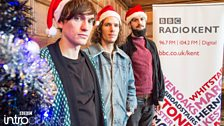 Shy Nature at BBC Introducing in Kent's Christmas Party