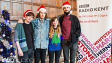 Abbie McCarthy and Shy Nature at BBC Introducing in Kent's Christmas Party