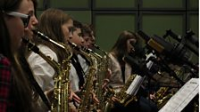 The East Renfrewshire School Jazz Band