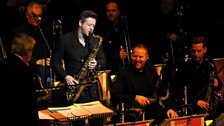 Paul Booth (tenor saxophone) and the BBC Big Band - Town Hall Birmingham 16 December 2014