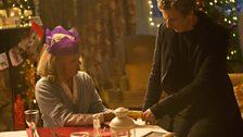 In Last Christmas we saw Clara (Jenna Coleman) apparently decades after her travels with the Doctor...