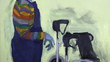 Painting by Lucy Jones - Wheelie - 2012