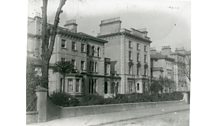 The Queen's Hotel near Crystal Palace, where Zola stayed