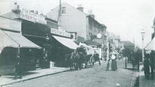 A view of Westow Street at the junction