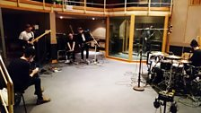 Solemn Sun performing for BBC Introducing