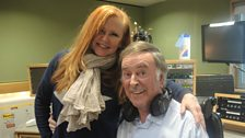 Carol Decker with Sir Terry